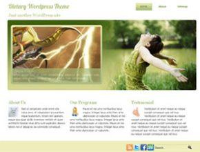 dietary wordpress theme