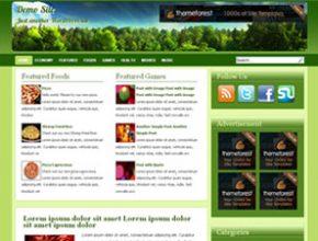 green land wordpress theme