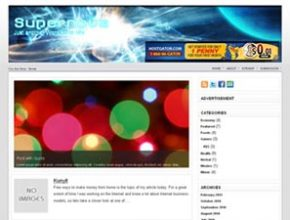 supernova wordpress theme