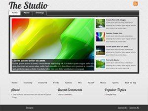The Studio wordpress theme