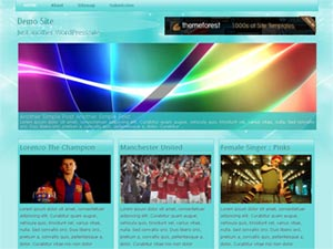 papandayan wordpress theme