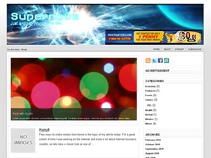 supernova wordpress theme